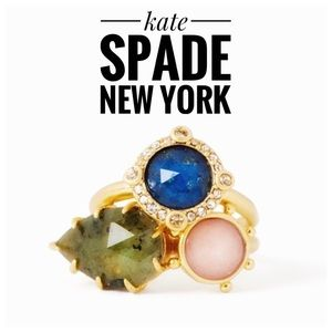 Kate Spade Perfectly Imperfect Stone Ring NWT SZ 7